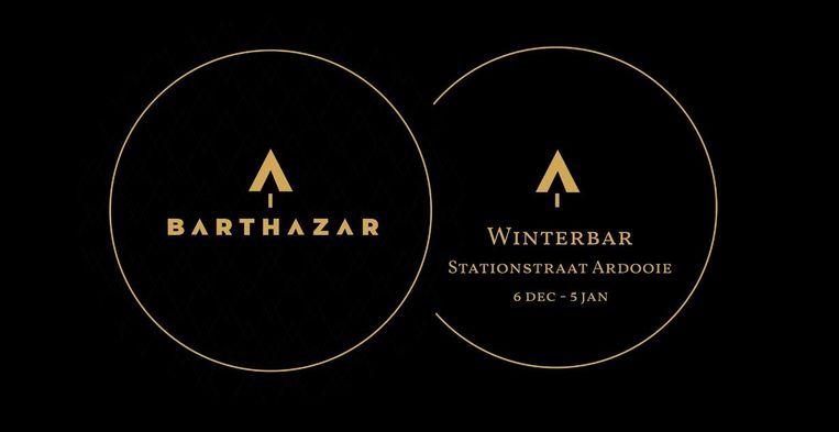 Het logo van Barthazar.
