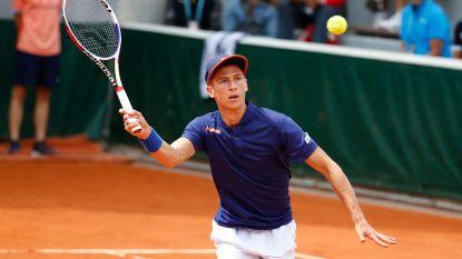 Geen galamatch tegen Nadal: eerste ronde eindstation voor Coppejans op Roland Garros