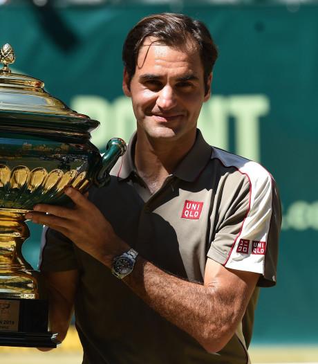 Federer se rapproche de Nadal et Djokovic, Goffin et Mertens aux portes du top 20