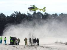 Traumaheli rukt uit voor onwelwording op Soester Duinen, slachtoffer overleden