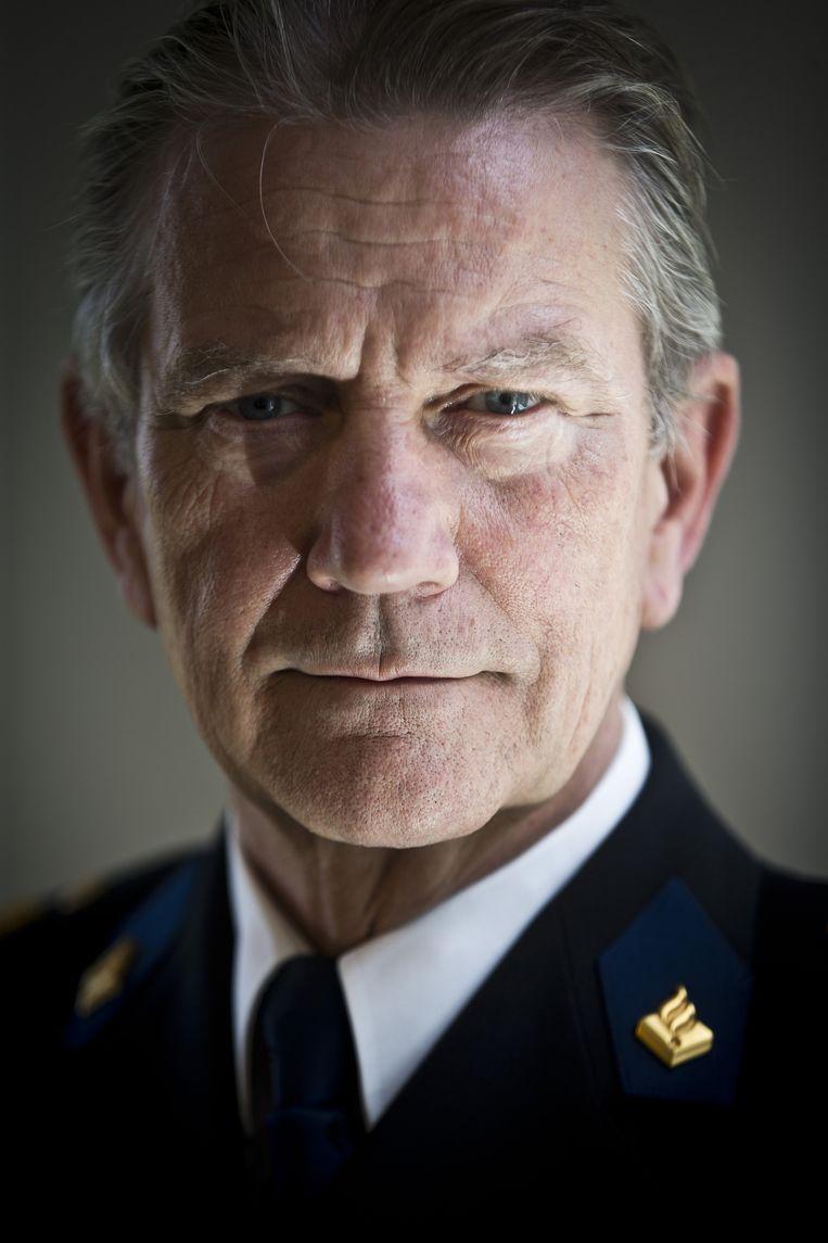 Korpschef Gerard Bouman Beeld anp