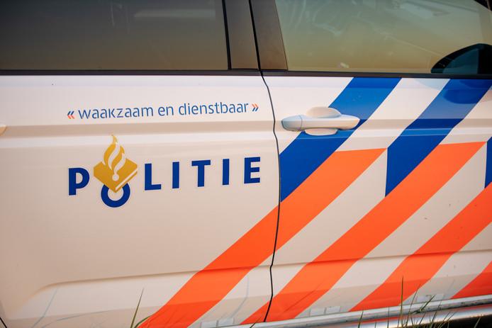 De politie kwam in actie in Alphen.