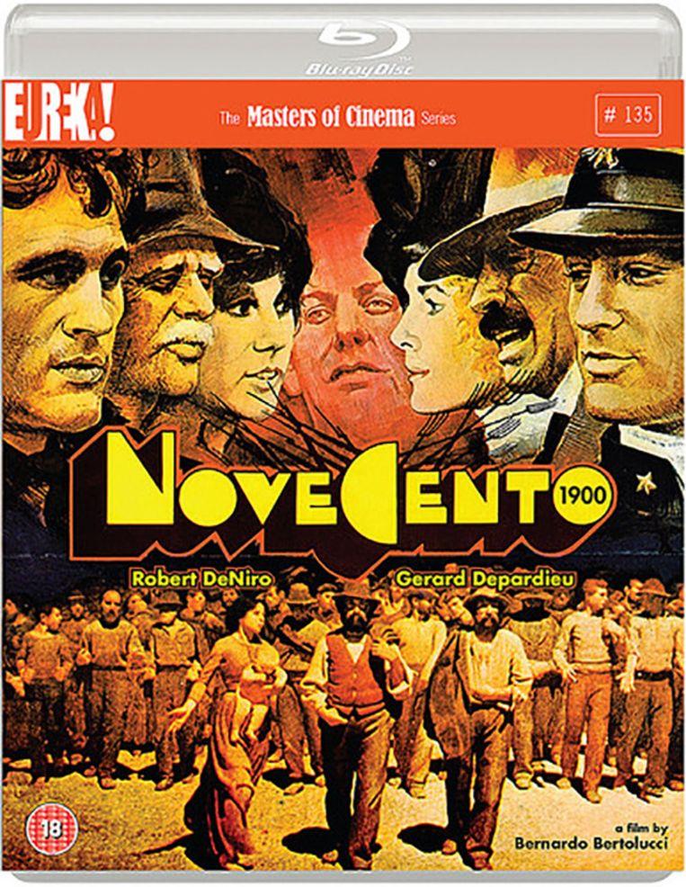 Novecento: Regie Bernardo Bertolucci, met o.a. Robert De Niro, Gérard Depardieu en Dominique Sanda; 1976, 315 min. Distributie Eureka (Engelse import) - Drama ***** Beeld .