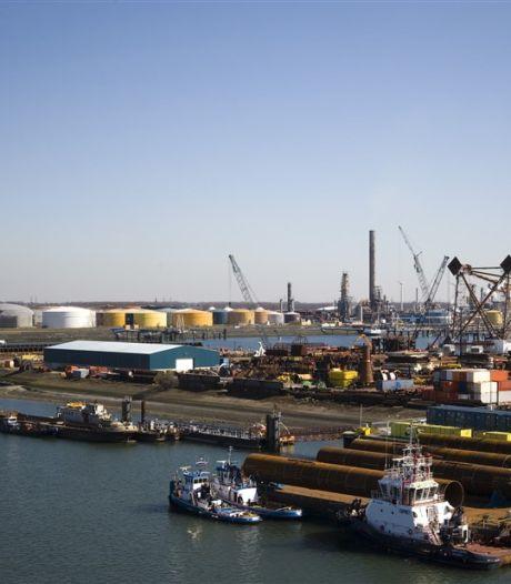 Minder goederenoverslag in havens North Sea Port door corona, Brexit en oliecrisis