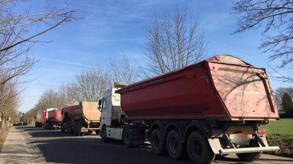 Zennevallei denkt aan routenetwerk waarbij vrachtwagens dorpscentra vermijden en voorbehouden parkeerplaatsen krijgen