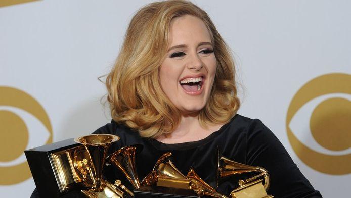 Adele lors des Grammy Awards