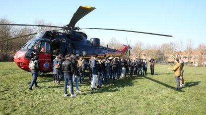 Leerlingen warm maken voor job bij Defensie? Breng een helikopter mee!