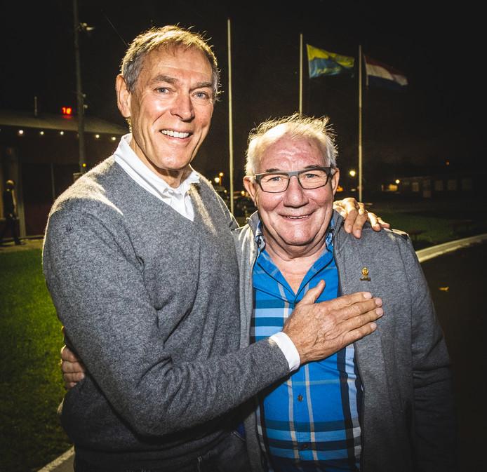 Ard Schenk en Kees Verkerk, het illustere schaatsduo, zijn vrienden voor het leven.