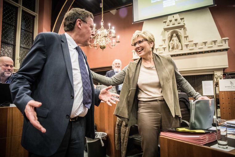 Siegfried Bracke en Elke Sleurs