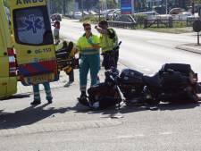 Motorrijder gewond na aanrijding met auto in Aalten
