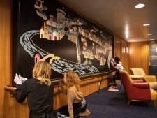 Restauratoren in spé storten zich op kunstschatten van het ss Rotterdam