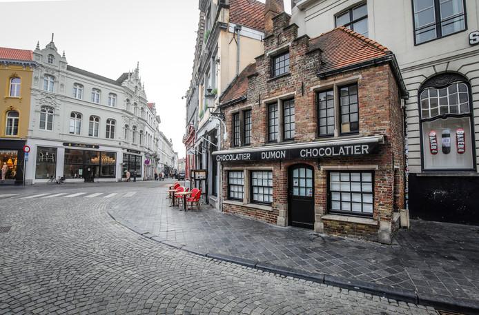 Chocolaterie Dumon op de Eiermarkt in Brugge is overgenomen.