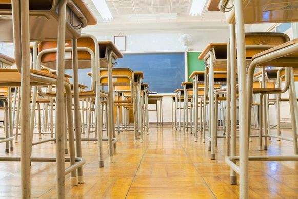 Illustratiebeeld - De leerlingen zullen ook op school voldoende afstand van elkaar moeten houden.
