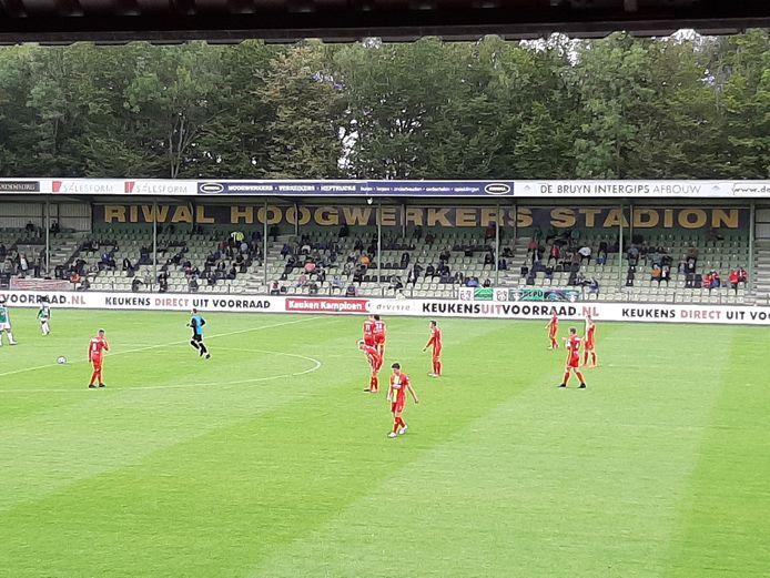 De ploegen zijn er klaar voor in Dordrecht.