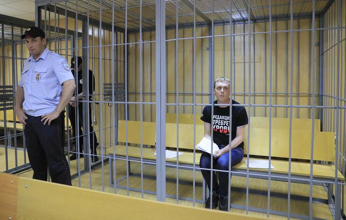 Goloenov in zijn cel