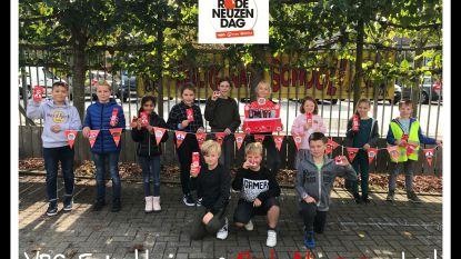 Vrije Basisschool Ertvelde koos voor sportieve Rode Neuzen Dag
