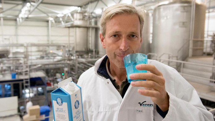 Manager Mark Kaptein van Veco Zuivel, de producent van A2.