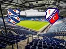 Heerenveen en FC Utrecht openen de eredivisiezondag
