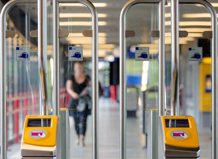 Het openbaar vervoer in Nederland is voor toeristen een uitdaging. Beeld anp