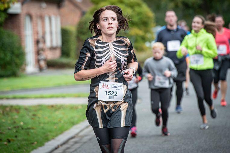 De Halloween Run lokte veel deelnemers.