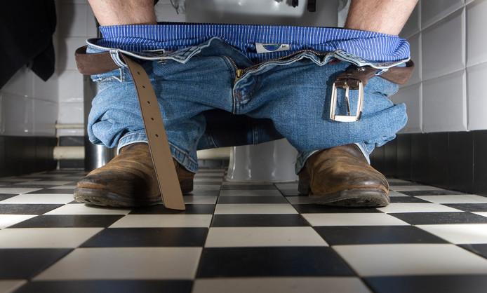 Op het openbare toilet kun je je eigen biomassa kwijt.