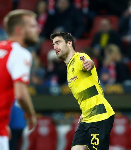 Dortmund wint zonder Bosz wél in de Bundesliga