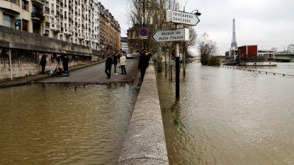 Waterpeil Seine blijft stijgen: vanavond piek tot bijna 6 meter verwacht