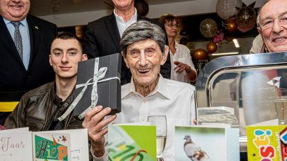 132 kaartjes voor 100ste verjaardag Andreas Declercq