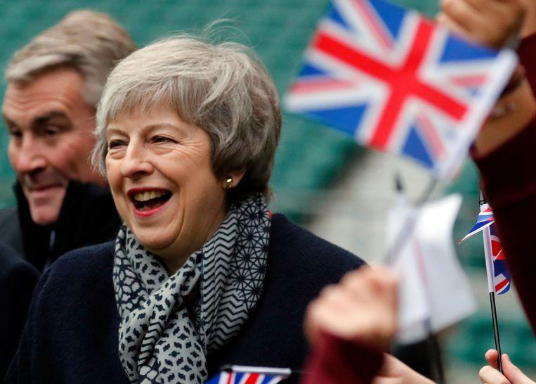 Pindakaas eten kalmeert Theresa May– Klopt dit wel?