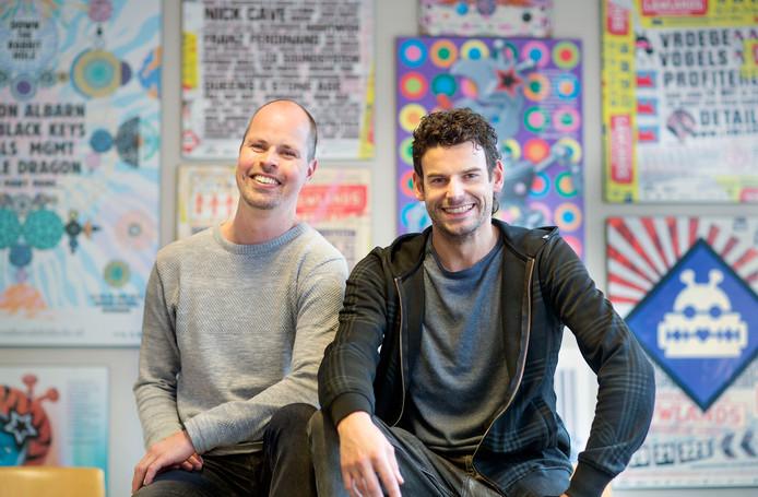 Bente Bollmann en Ide Koffeman, organisatoren van festival Down The Rabbit Hole.