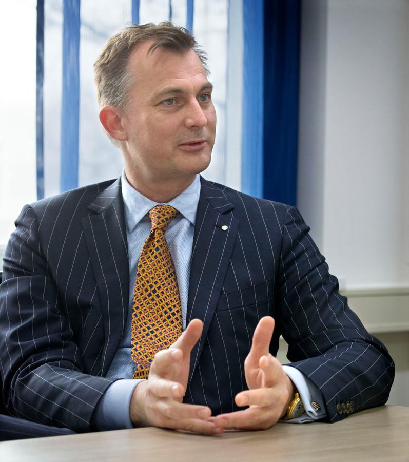 Wouter Groot: ,,We hebben drie à vier managementlagen. Dat werkt bureaucratie in de hand.''