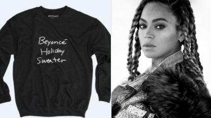 Beyoncé ontwerpt een kersttrui, maar Twitter is er geen fan van