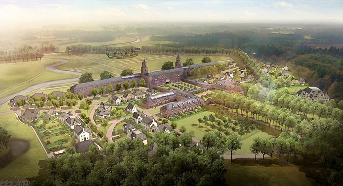bouwplan voormalig hartcentrum De Klokkenberg