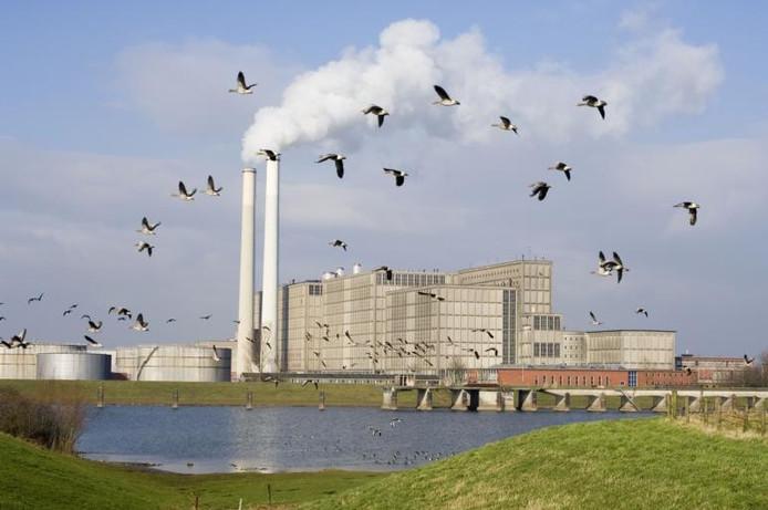 De Harculo Centrale, ook wel IJsselcentrale genoemd. foto Paul van Gaalen