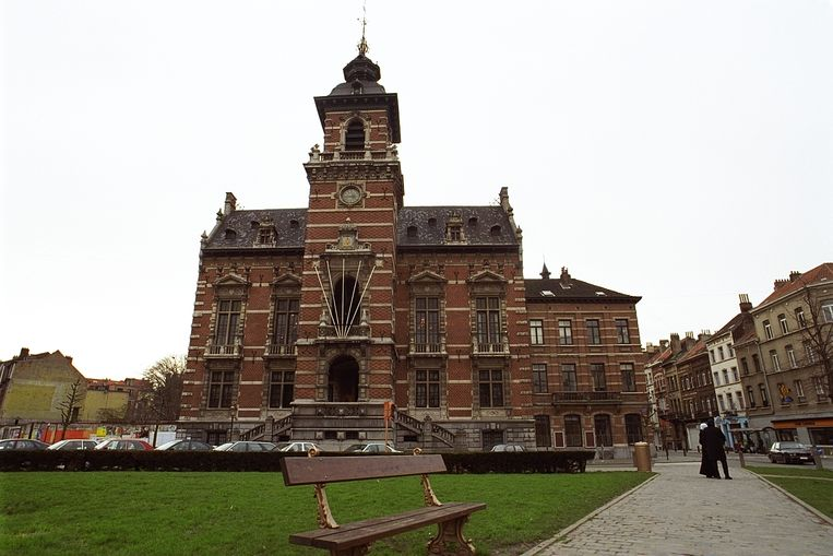 Het gemeentehuis van Anderlecht.