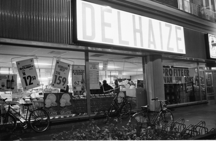 Delhaize in Aalst op archiefbeeld.