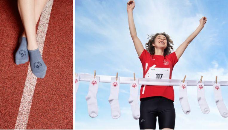 BENT lanceert #SpecialThanks-sokken, een deel van de opbrengst zal mensen met een beperking helpen sporten.