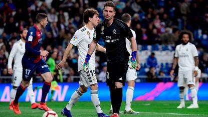 FT buitenland. Geen Courtois, maar ook geen Navas: Zidane dropt zoon Luca in de goal (en die wordt meteen geklopt)