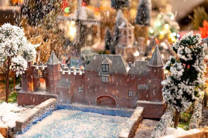 Koppelpoort als kersthuisje amersfoort for Intratuin wijchen