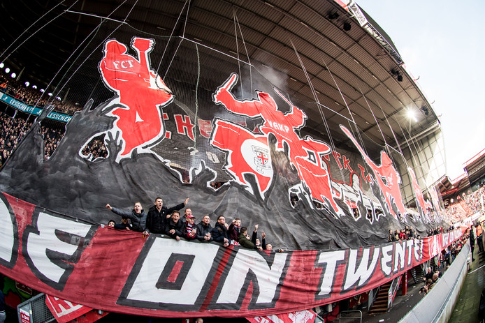 Sfeeractie FC Twente in Vak-P.