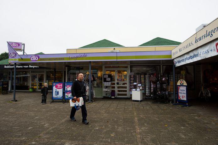 Winkelcentrum Laageinde in Waalwijk.