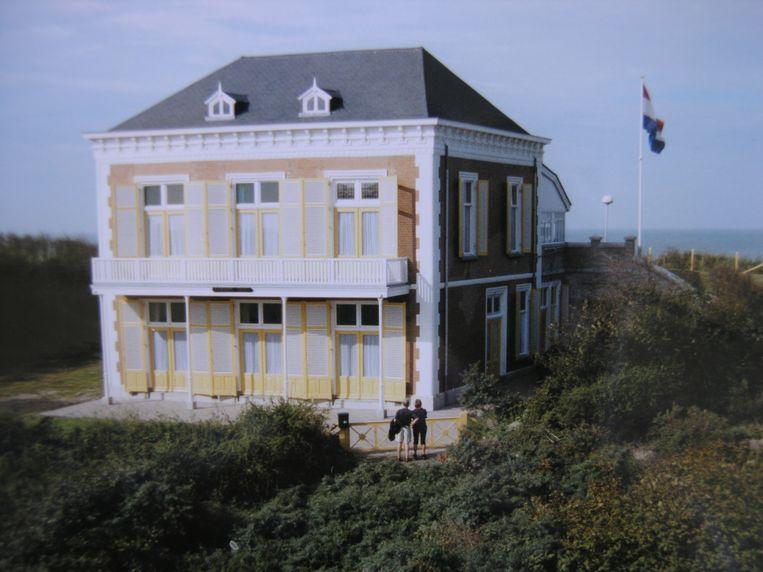 Villa Carmen Sylva in Domburg. Beeld