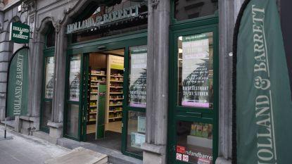 """Natuurwinkel Holland & Barrett sluit vestiging op de Bondgenotenlaan: """"Veel leegstand rondom ons en Leuven is te klein voor twee winkels"""""""