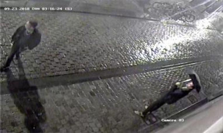 De politie zoekt getuigen die toevallig langsliepen