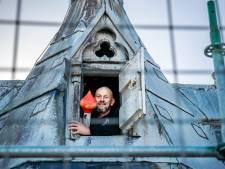 Na 37 jaar en een miljoen traptreden, stopt Hans (54) als vlaggenist van de Dom: 'Mijn hoofd is elk moment van de dag in die toren'