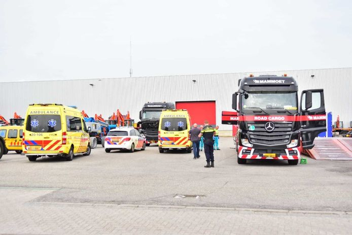 Ongeluk in Oudenbosch.