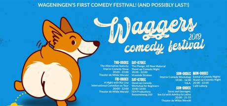 Wageningen krijgt een 5-daags comedyfestival