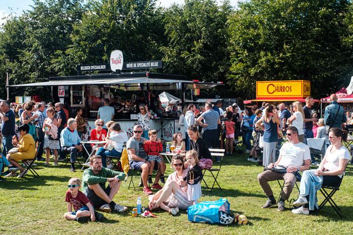 Fiesta Europa landde vorige maand nog in Brasschaat, nu is het de beurt aan Antwerpen.