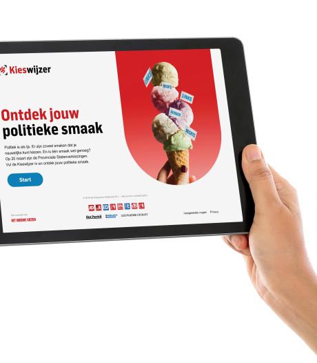 12 van de 14 Provinciale partijen doen mee aan AD Kieswijzer: alleen PVV en FvD niet
