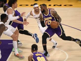 Conference-leiders Boston en LA Lakers boeken vijfde zege op rij
